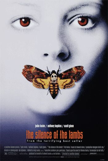 Fandom Nexus: 16 Movie Posters Transformed into Animated Gifs (The Silence of the Lambs)