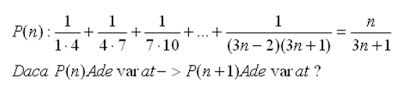 mathematical induction examples with solution - example 10