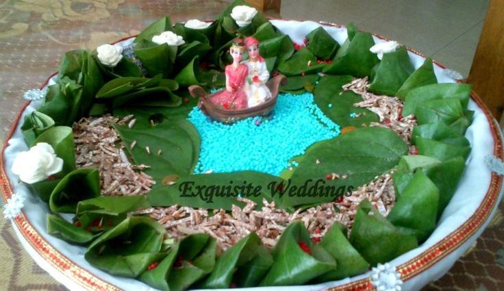 betel leaf decoration