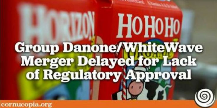 Antitrust concerns have delayed regulatory approval of Group Danone's proposed acquisition of WhiteWave. Learn more and sign the petition asking the Department of Justice and the Federal Trade Commission to scrutinize the proposal on our website.