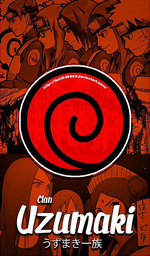 Naruto Wallpapers Mobile : Clan , Uzumaki by Fadil089665 on DeviantArt