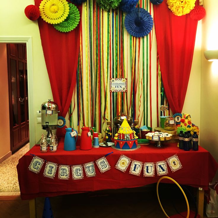 Circus party Carnival party