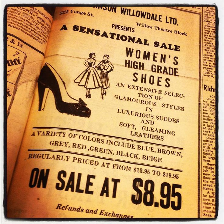 For #throwbackthursday we dug up a monster sale in 1953. Take that #BlackFriday & #BoxingDay
