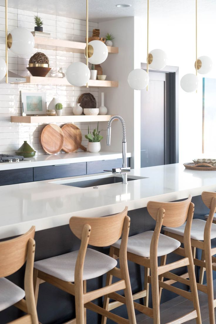 Warm Modern Kitchen In Law S Kitchen Reveal The Unexpected Sink That Makes The Space