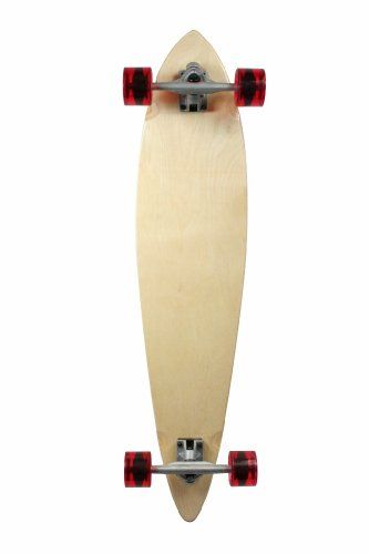 """Natural Blank & Stained Complete Longboard Pintail Skateboard (Natural, 40"""" x 9) SCSK8,http://www.amazon.com/dp/B00IKZ96F2/ref=cm_sw_r_pi_dp_7EcBtb0E6TZXYEW7"""
