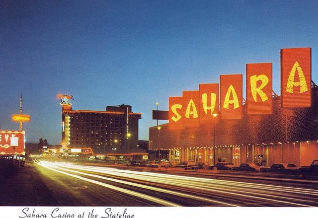 Sahara Casino At The State Line by fullc0de, via Flickr