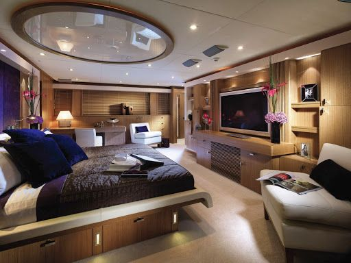 Inside Luxury Yachts Bedrooms For More Pictures Please Visit