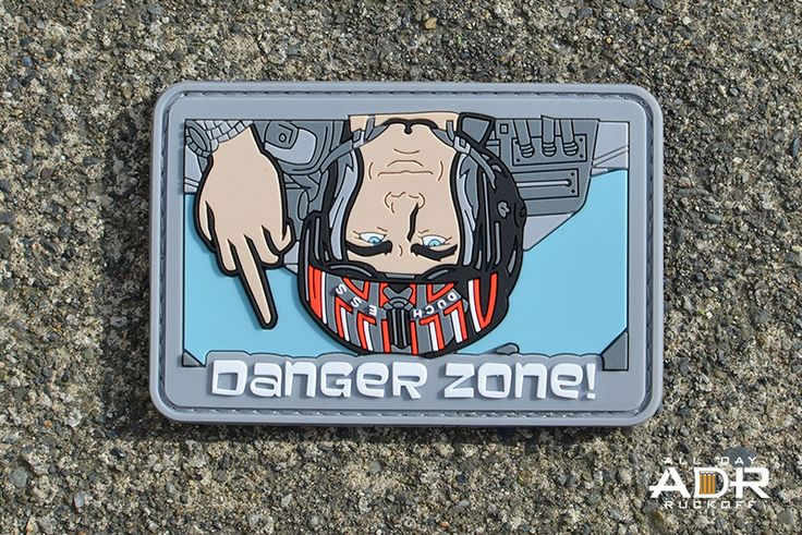 "Archer ""Danger Zone"" Top Gun patch"