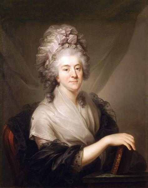 Marcello Bacciarelli - Franciszka Rzewuska (około 1780-3)