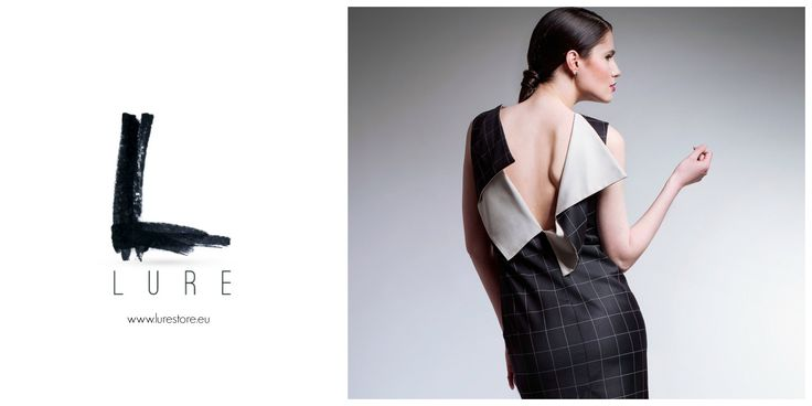 LURE is about beautiful ideas that dress fascinating women. #minimalistyle #mididress #graphicprint wwwl.lurestore.eu