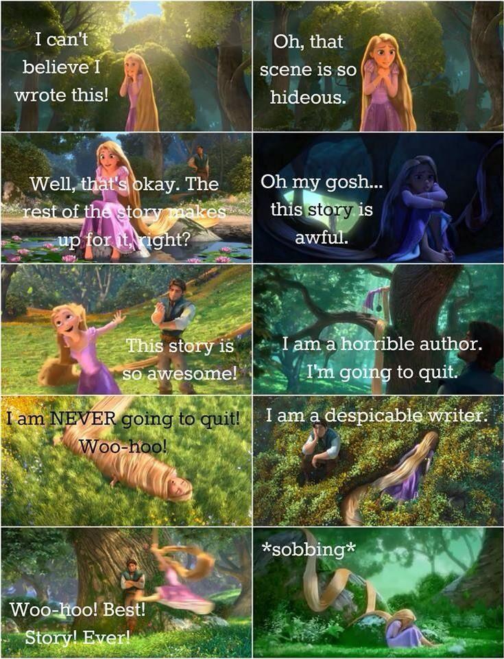 I often feel like this when writing