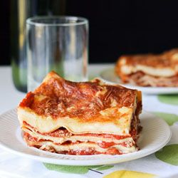 A lasagne recipe that will make everyone's mouths water