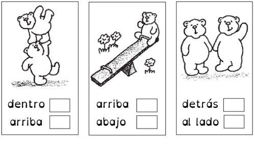 """""""¿Dónde está el oso?"""", guía gratuita para trabajar preposiciones"""