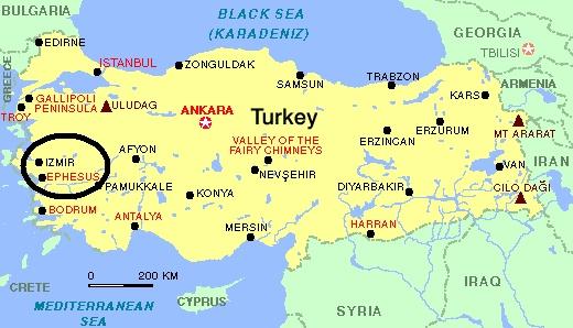 Izmir Turkey Map | My blog