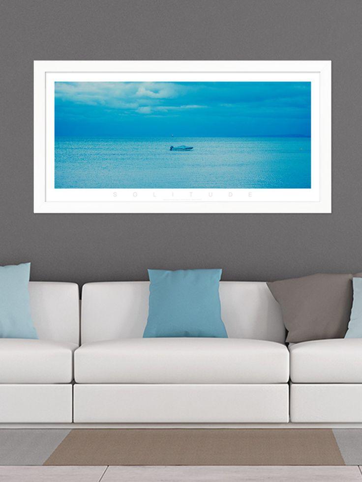 Solitude Blue Panoramic
