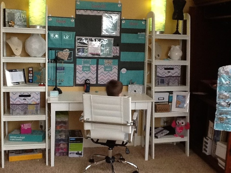 My Origami Owl office in progress! Thank you 31 gifts, Target, and Ikea!!!!