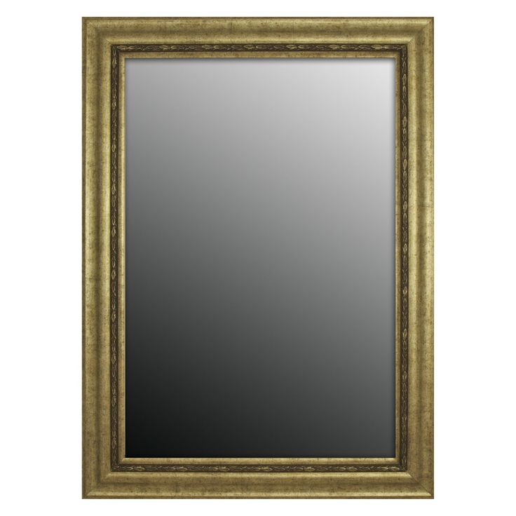 Second Look Mirrors Adalusian Silver Classic Wall Mirror | from hayneedle.com