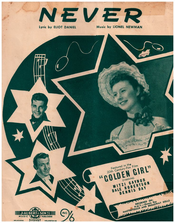 175 best Song Sheets 1950's images on Pinterest | Sheet music ...