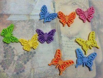 Foam Butterflies