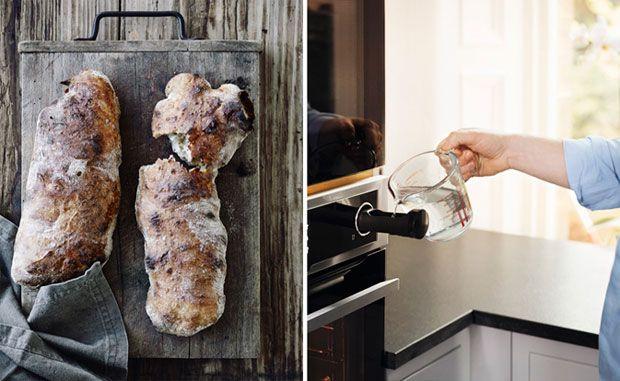Gør som de professionelle kokke - lav mad med damp. Det kan du med Electrolux' kombidampovn.