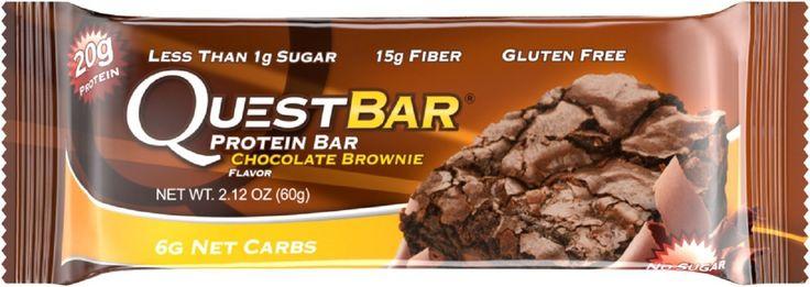 Quest Protein Bar Chocolate Brownie Flavor 2.12 oz