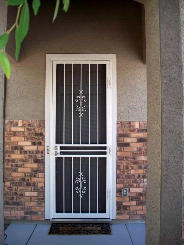 Best 25 Security Door Ideas On Pinterest Grill Door