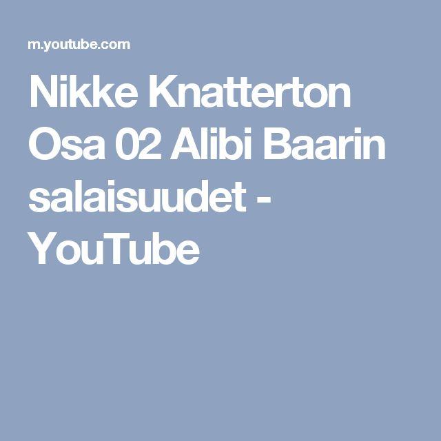 Nikke Knatterton Osa 02   Alibi Baarin salaisuudet - YouTube