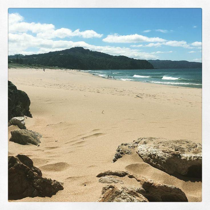 Windy afternoon on Tairua beach.