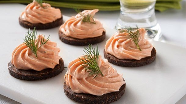 17 best ideas about smoked salmon mousse on pinterest for Canape cookbook