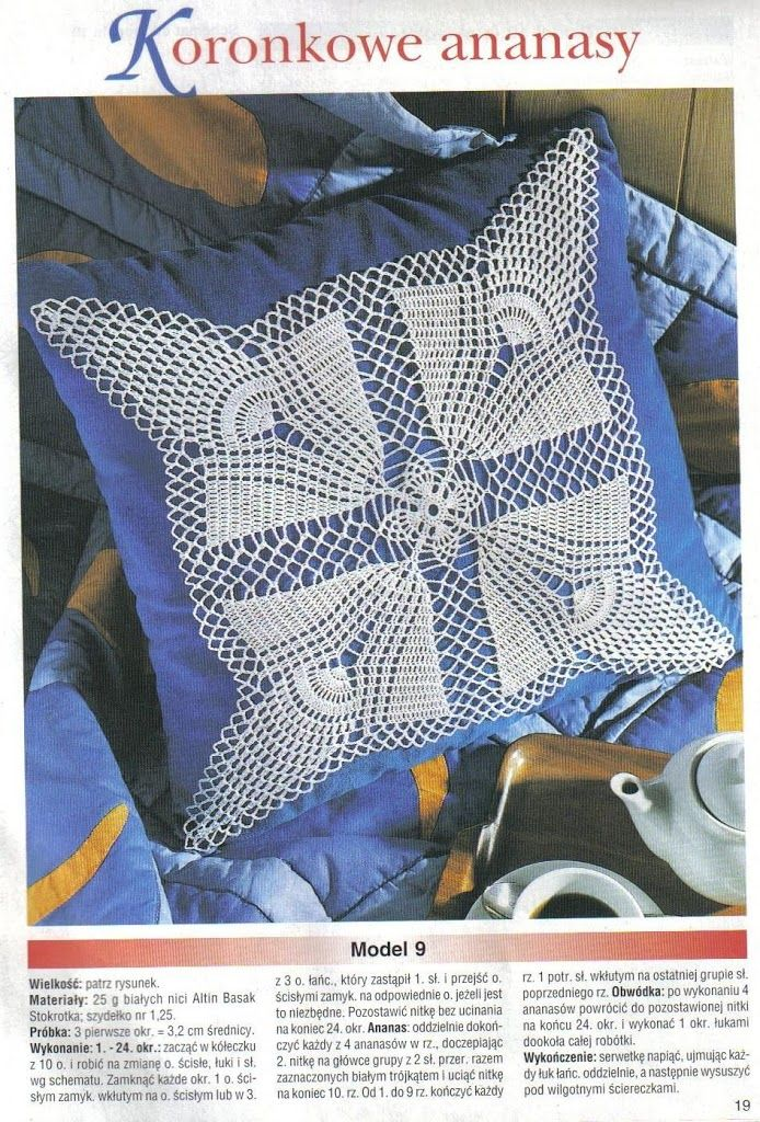 196 best Almohada/Cojín images on Pinterest | Crochet patterns ...
