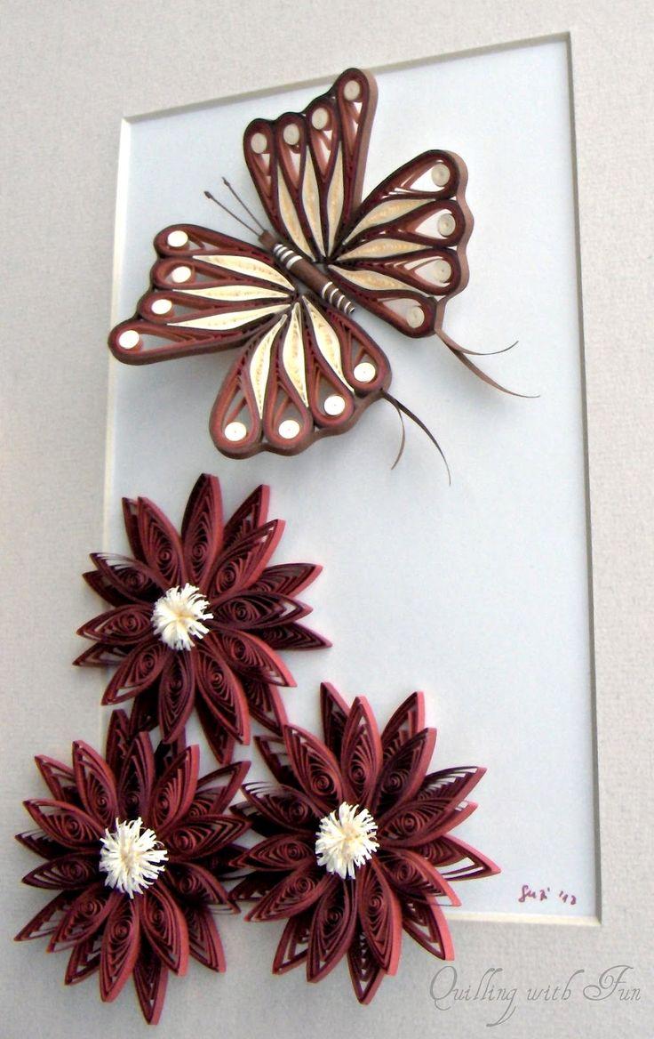 271 best quilling butterflies images on pinterest quilling ideas