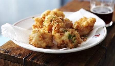 Jamaican Salt Fish Fritters Recipe- one of my favourite things to eat. F x