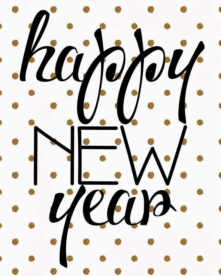 Tied Ribbon: & a Happy New Year (printable)!