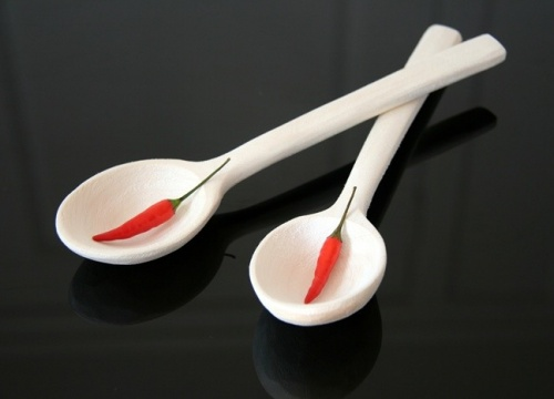Wooden spoons - hand-engraved