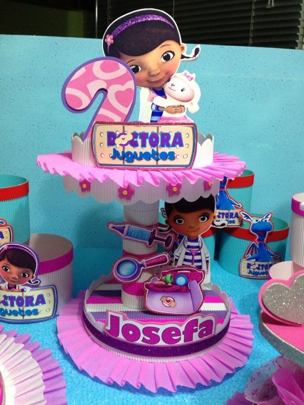Doc Mcstuffins Centerpieces Ideas