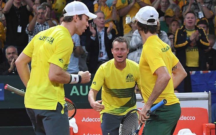 COPPA DAVIS , SEMIFINALI : FRANCIA E AUSTRALIA CONDUCONO 2 - 1 SU SERBIA E BELGIO #tennis #grand #slam #coppa #davis #semifinali
