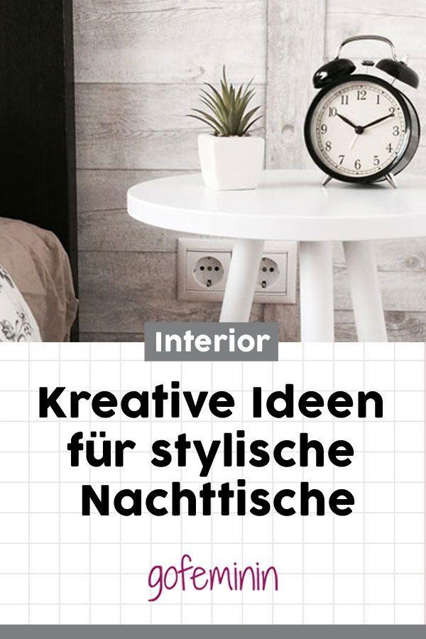 Stylisches Schlafzimmer: Mit DIESEN Kreativen Ideen Wird Euer Nachttisch  Zum Hingucker! #stylischernachttisch #