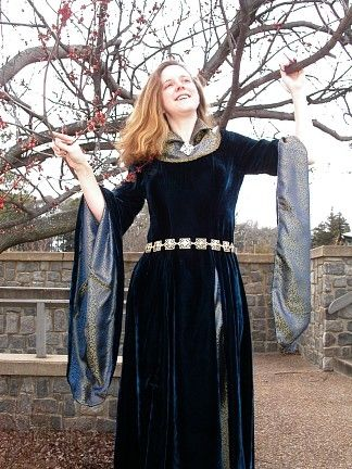 Eowyn Inspired Funeral Dress: