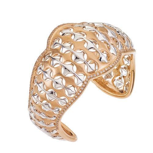 Diamond Jewellers :: 18KT ROSE GOLD CESTINO CUFF