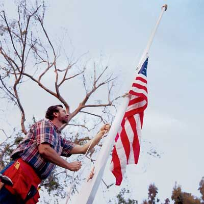 30 foot flag pole