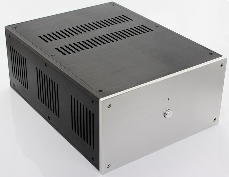 WF1109 <b>Aluminum Chassis Power</b> Amplifier Case PSU Enclosure ...