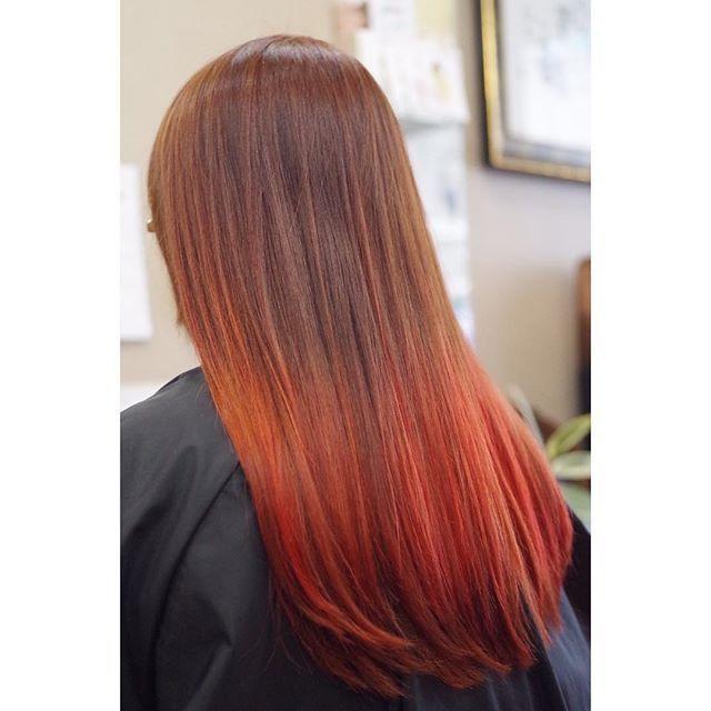 WEBSTA @ ogune - 寒いからあったまるカラーを🔥🔥#manicpanic  #haircolor  #ACELAB #西川口 #西川口美容室 #ダブルカラー #マニックパニック  #DEMI #川口 #蕨
