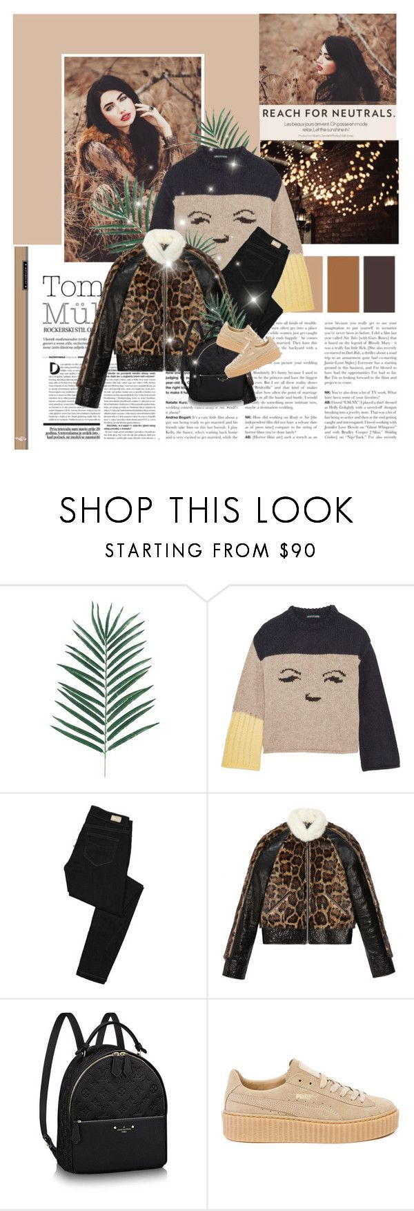 """""""Forgotten Is Forgiven"""" by fashionaviour ❤ liked on Polyvore featuring RALPH, Andrea, AlexaChung, Paige Denim, Gucci and Puma"""