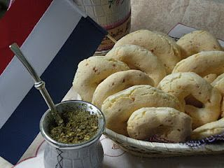 Chipa Paraguaya...a cheese bread made with yucca flour