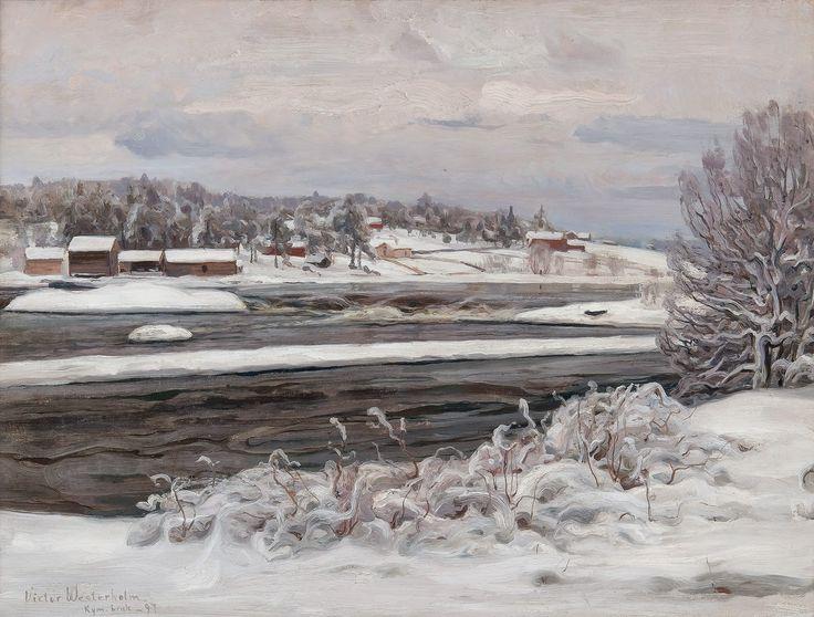 Le Prince Lointain: Victor Westerholm (1860-1919), Depuis Kymijoki.
