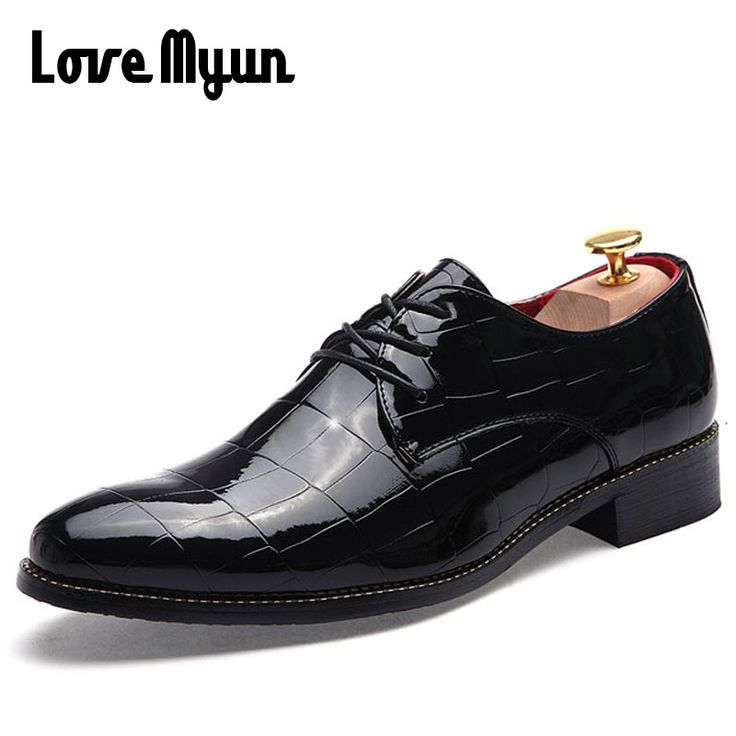 Fashion Lattice fringe Men's patent leather shoes casual leather shoes red dress shoes business&Wedding Shoes size 38-43 AA-49. Yesterday's price: US $55.85 (47.05 EUR). Today's price: US $27.37 (22.40 EUR). Discount: 51%.