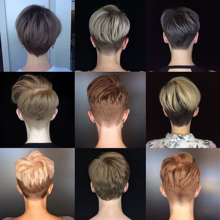 Zum Schluss Noch Ein Paar Fotos Vom Hinterkopf Pixie Pixiecut Pixiehaircut Shortpixie Haarschnitt Kurz Kurzhaarschnitte Haarschnitt