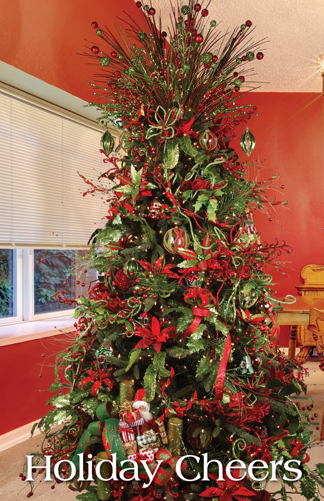 Www Christmas Ideas Decorations For Living Room: Melrose Designer Christmas Tree 2013: Holiday Cheers