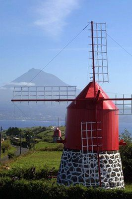 Faial Island ~ Açores, Portugal -  Karen Plennes-Both Windmills