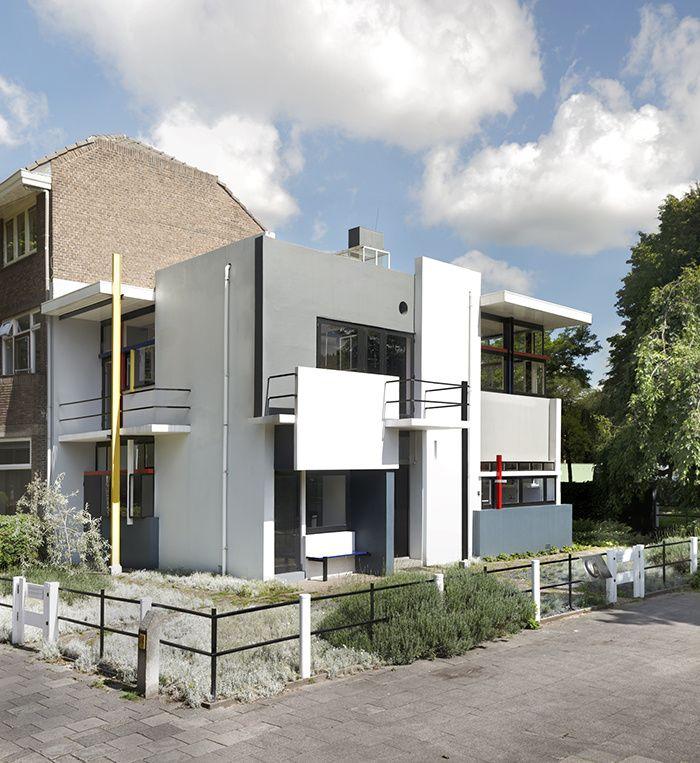 Les maisons d'architectes a visiter : La Maison Schröder de Rietveld © Ernst Moritz